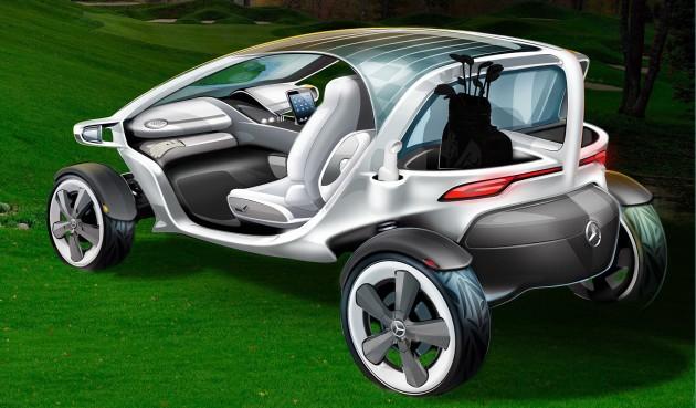 mercedes-benz vision golf cart 02