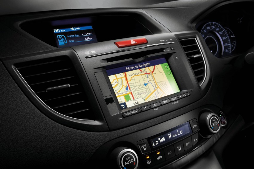 Honda CR-V 2.4L introduced – 190 hp, RM169,800 Image #184487