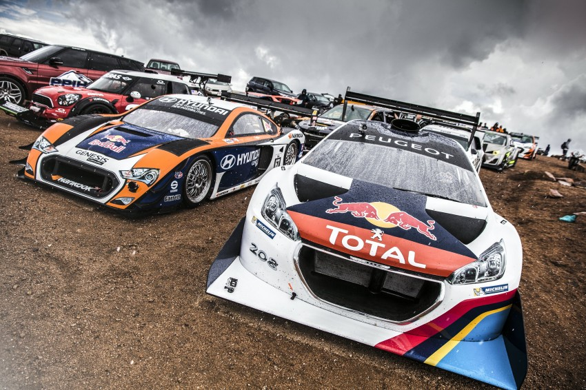 Peugeot 208 T16 Pikes Peak sets new record! Image #184284