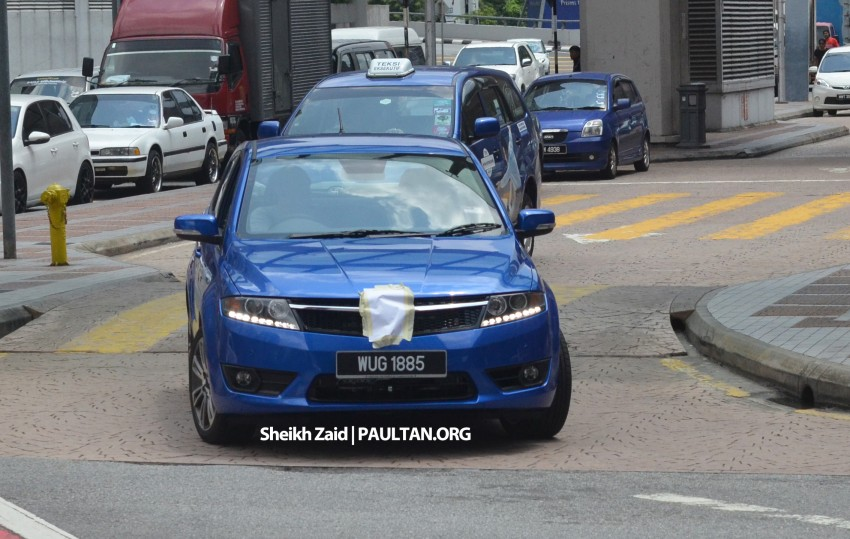SPIED: Proton Preve P3-22A Hatchback, undisguised Image #190675