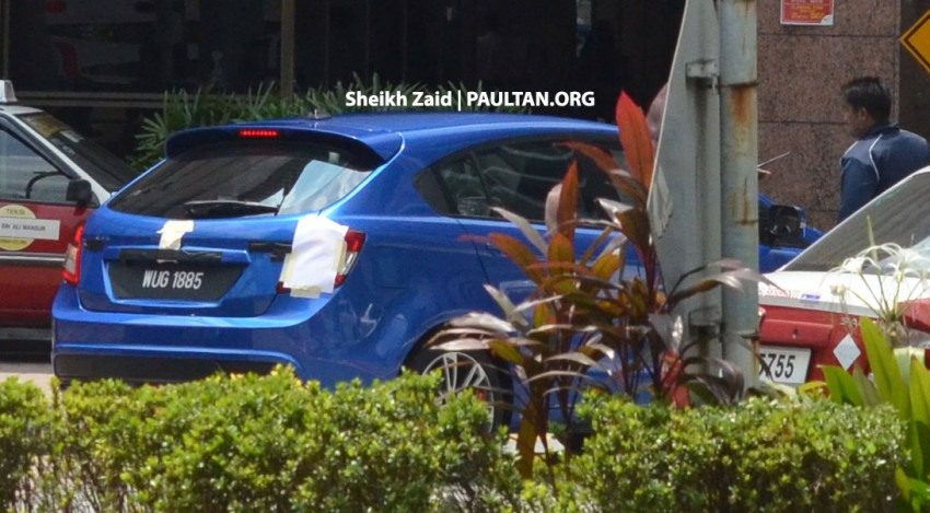 SPIED: Proton Preve P3-22A Hatchback, undisguised Image #190906