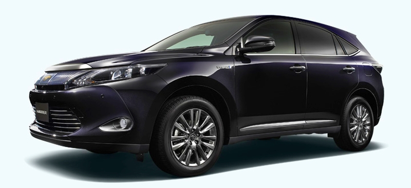 2014 Toyota Harrier set for year-end debut in Japan Image #189270