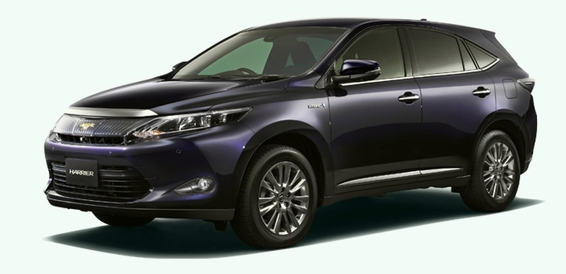 2014 Toyota Harrier set for year-end debut in Japan Image #189269