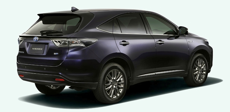 2014 Toyota Harrier set for year-end debut in Japan Image #189268