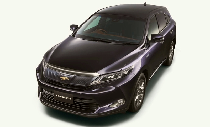2014 Toyota Harrier set for year-end debut in Japan Image #189267