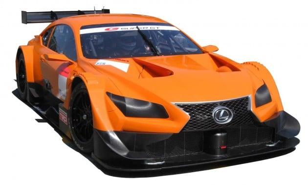 Lexus LF-CC racer for 2014 Super GT