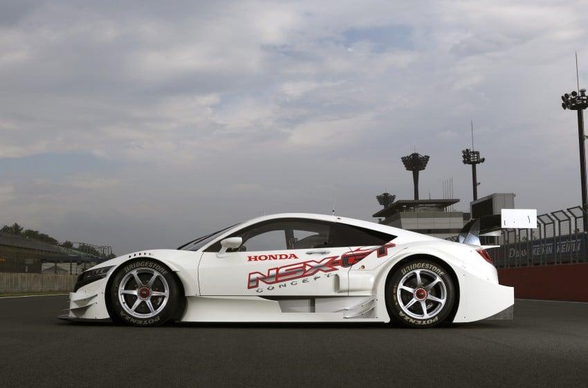 Honda NSX Concept-GT racer unveiled for Super GT Image #193250