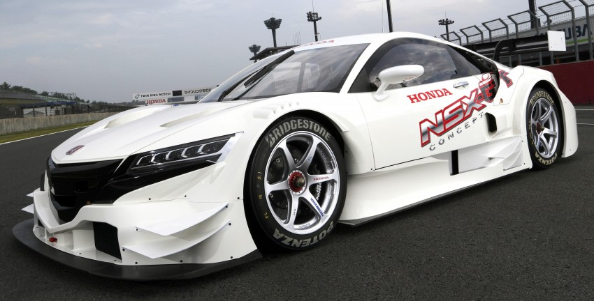 Honda NSX Concept-GT racer unveiled for Super GT Image #193260