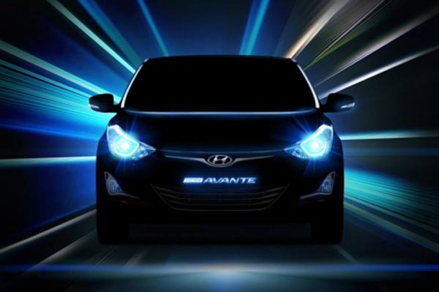 2014 Hyundai Elantra facelift teaser