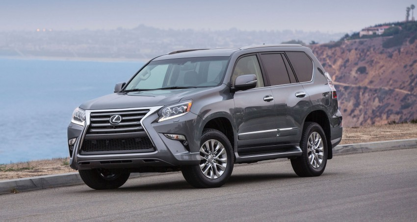 Lexus GX 460 facelift gets the spindle grille treatment Image #194554