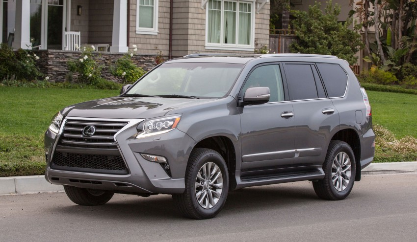 Lexus GX 460 facelift gets the spindle grille treatment Image #194555