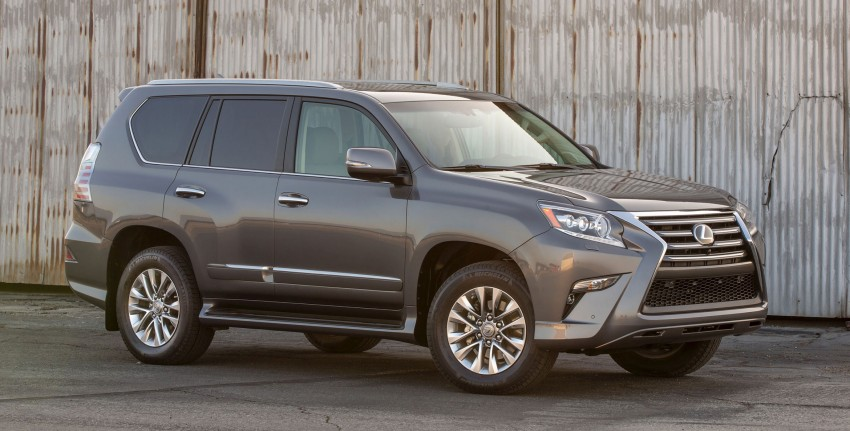 Lexus GX 460 facelift gets the spindle grille treatment Image #194557