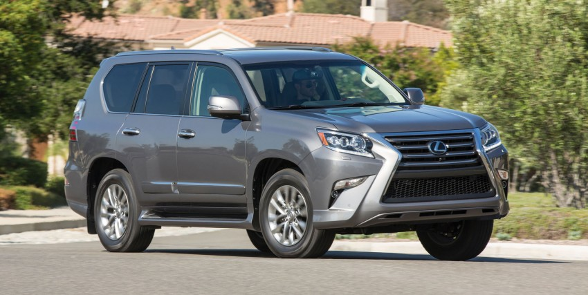 Lexus GX 460 facelift gets the spindle grille treatment Image #194558