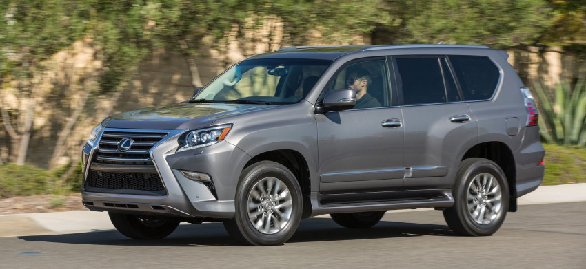 Lexus GX 460 facelift gets the spindle grille treatment Image #194559