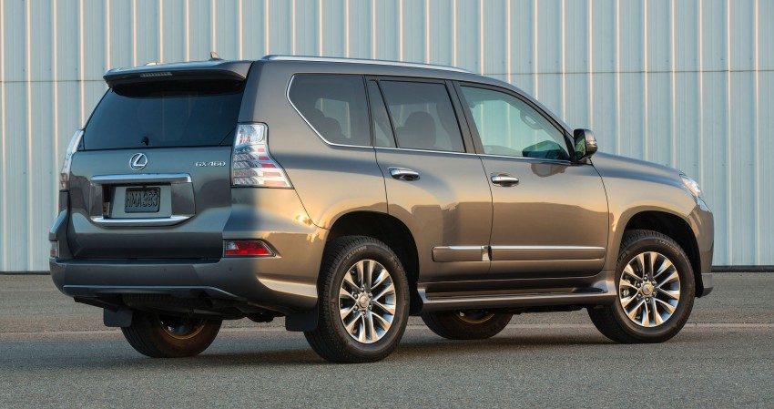 Lexus GX 460 facelift gets the spindle grille treatment Image #194561