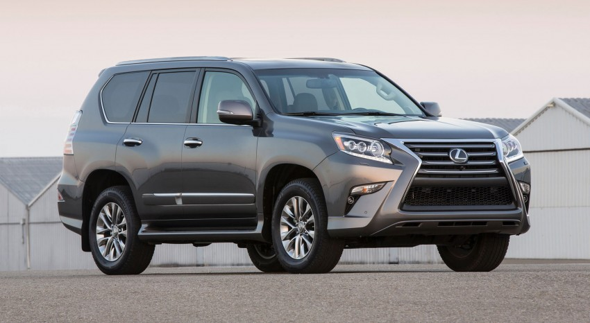 Lexus GX 460 facelift gets the spindle grille treatment Image #194562