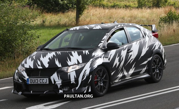 2014_Honda_Civic_Type_R_spyshots_003