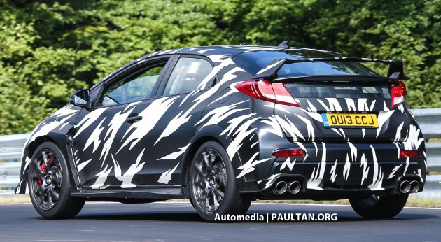 2014_Honda_Civic_Type_R_spyshots_024