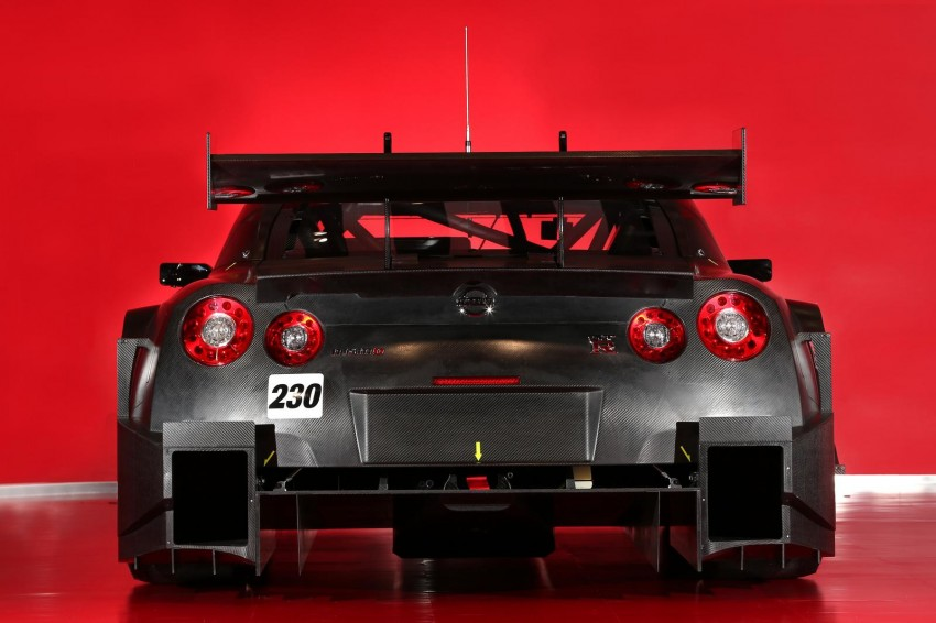 Nissan GT-R Nismo GT500 uncovered for Super GT Image #193295