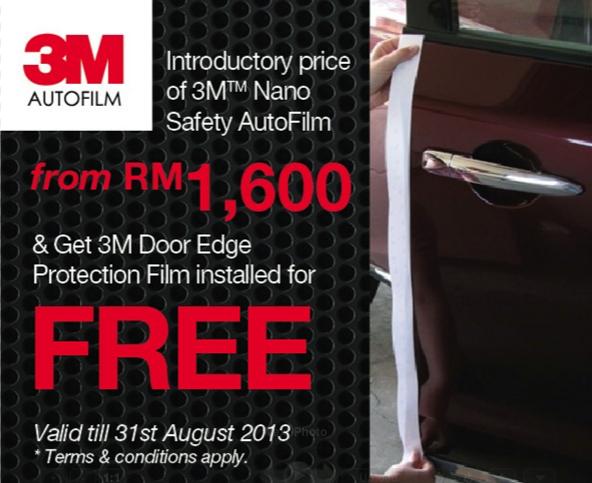 3M Nano Safety AutoFilm promotion