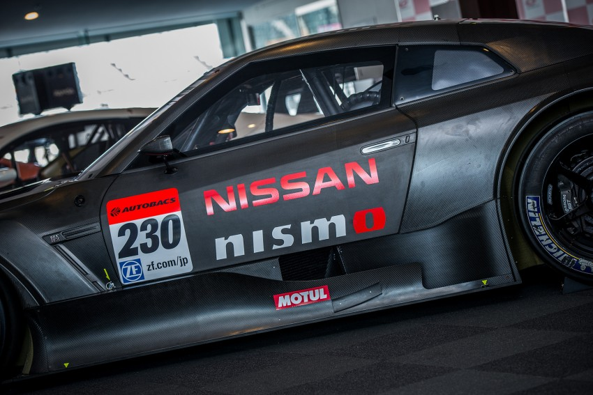 Nissan GT-R Nismo GT500 uncovered for Super GT Image #193301