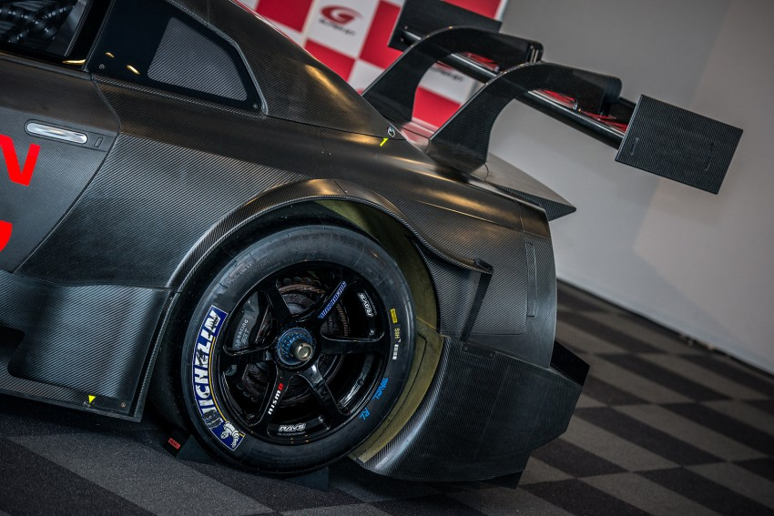 Nissan GT-R Nismo GT500 uncovered for Super GT Image #193307