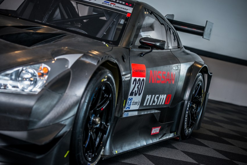 Nissan GT-R Nismo GT500 uncovered for Super GT Image #193308