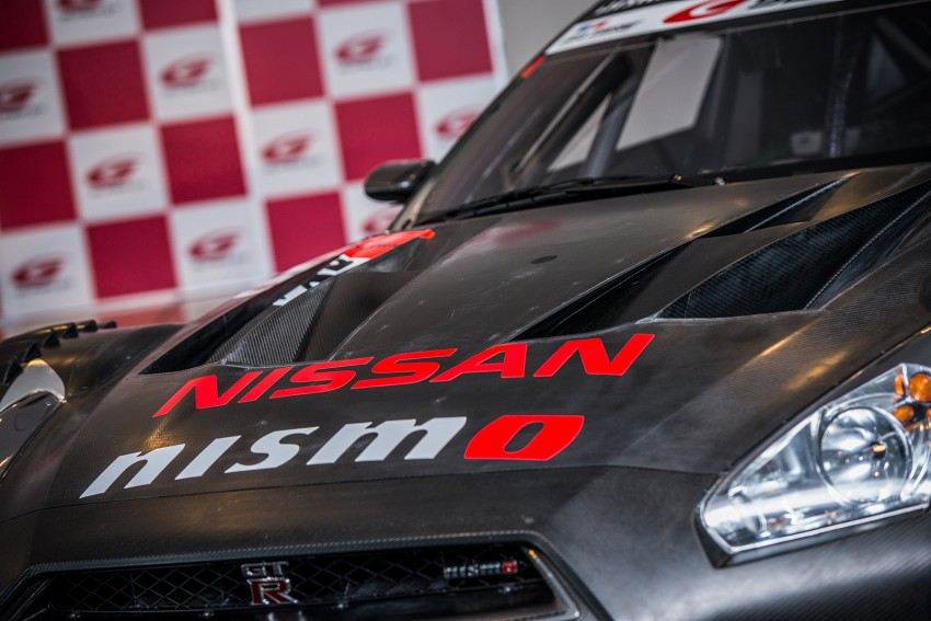 Nissan GT-R Nismo GT500 uncovered for Super GT Image #193310