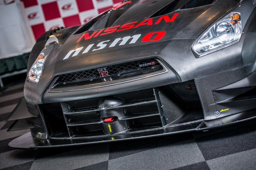 Nissan GT-R Nismo GT500 uncovered for Super GT Image #193311