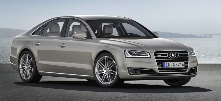 Audi A8 facelift unveiled, to debut at Frankfurt 2013 Image #194287