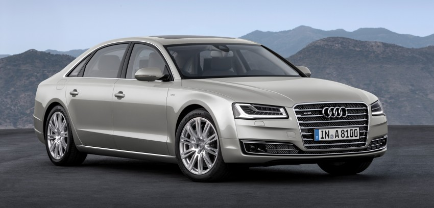 Audi A8 facelift unveiled, to debut at Frankfurt 2013 Image #194284