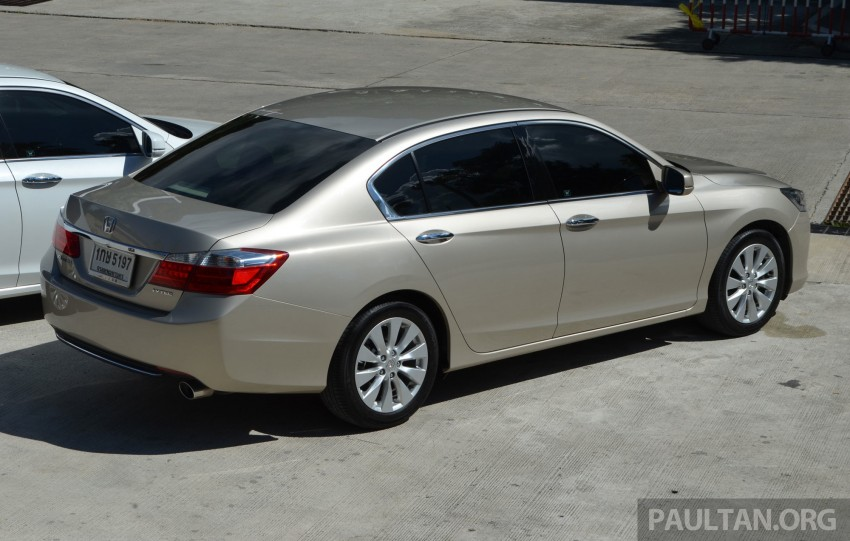 DRIVEN: Honda Accord 2.0 and 2.4 tested in Thailand Image #194964
