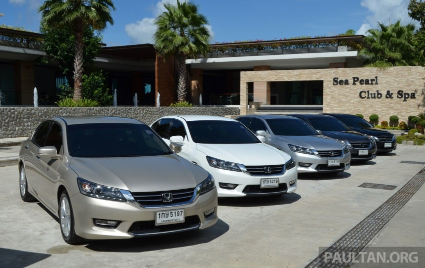 DRIVEN: Honda Accord 2.0 and 2.4 tested in Thailand Image #194965
