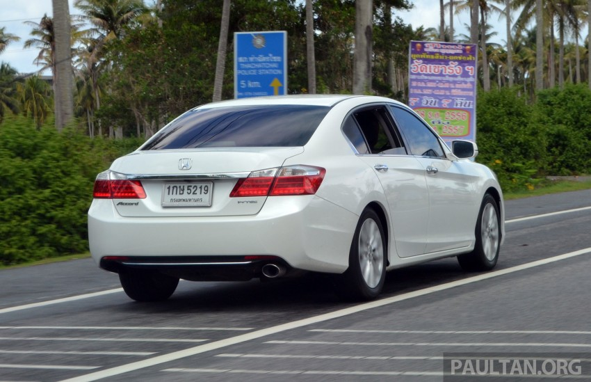 DRIVEN: Honda Accord 2.0 and 2.4 tested in Thailand Image #194994