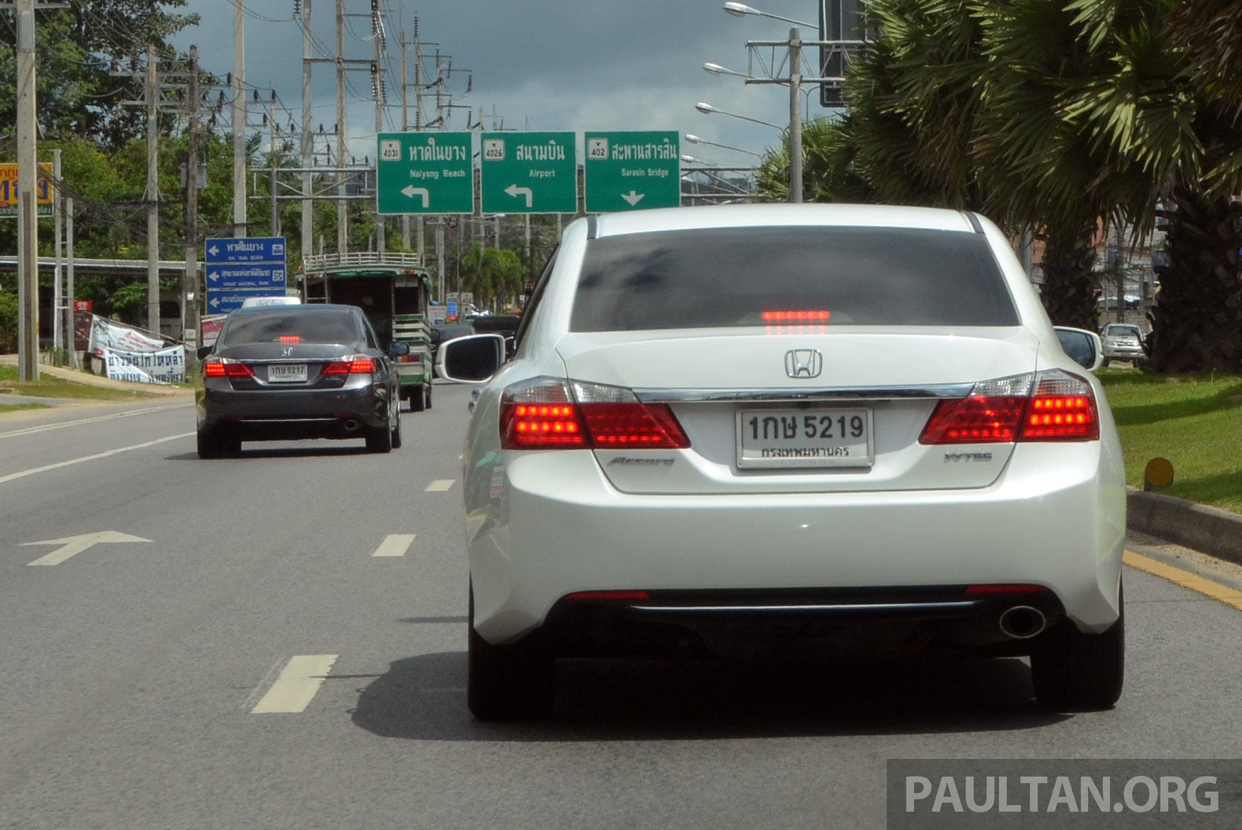 Driven Honda Accord 2 0 And 2 4 Tested In Thailand Paul