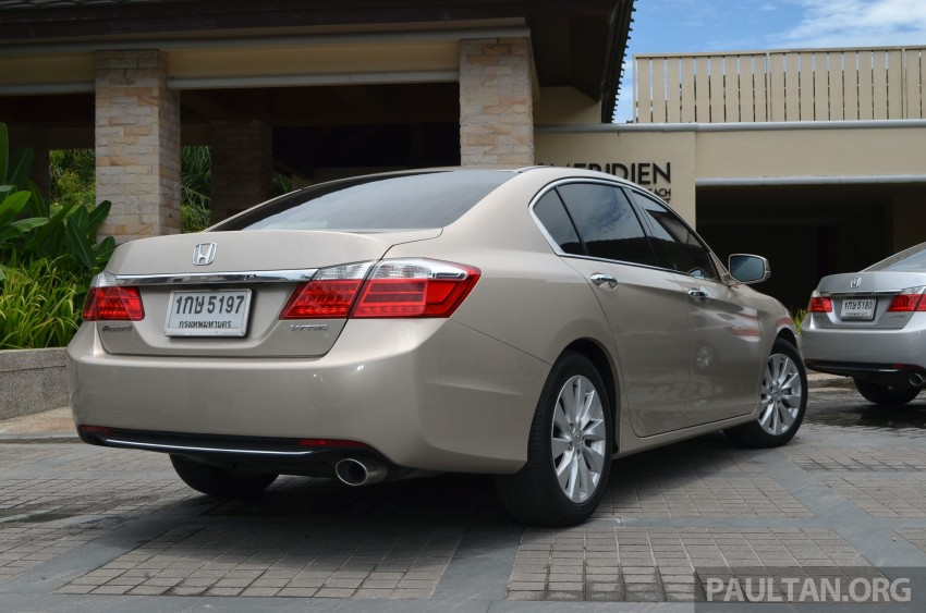 DRIVEN: Honda Accord 2.0 and 2.4 tested in Thailand Image #195010