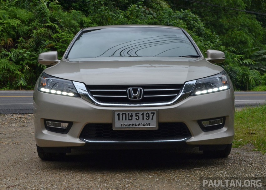DRIVEN: Honda Accord 2.0 and 2.4 tested in Thailand Image #195021