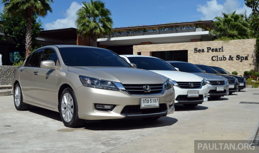 DRIVEN: Honda Accord 2.0 and 2.4 tested in Thailand Image #194969