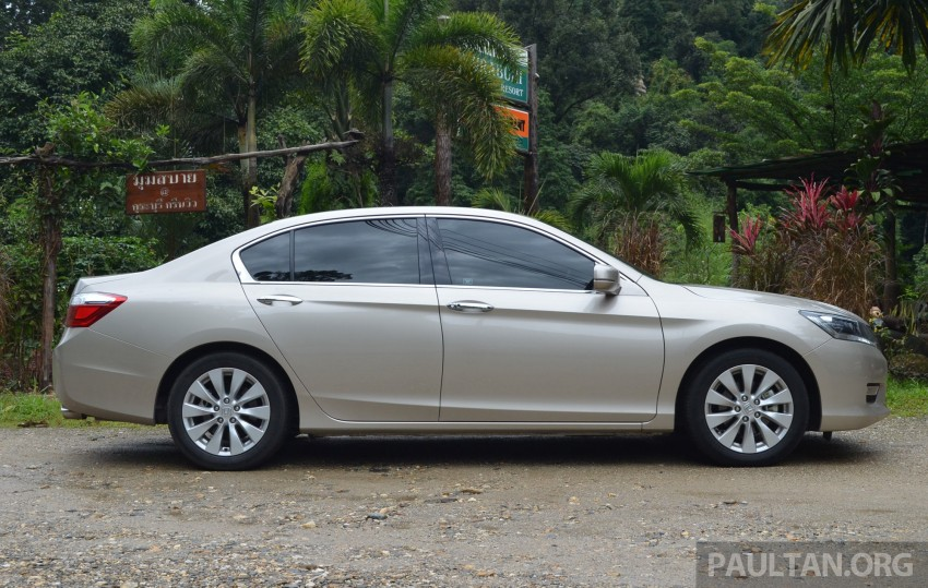 DRIVEN: Honda Accord 2.0 and 2.4 tested in Thailand Image #195023