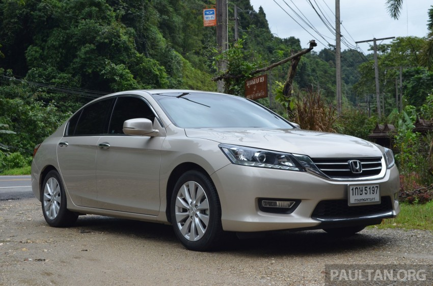 DRIVEN: Honda Accord 2.0 and 2.4 tested in Thailand Image #195024