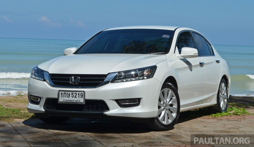 DRIVEN: Honda Accord 2.0 and 2.4 tested in Thailand Image #195186