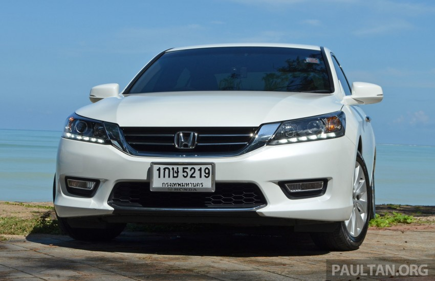 DRIVEN: Honda Accord 2.0 and 2.4 tested in Thailand Image #195188