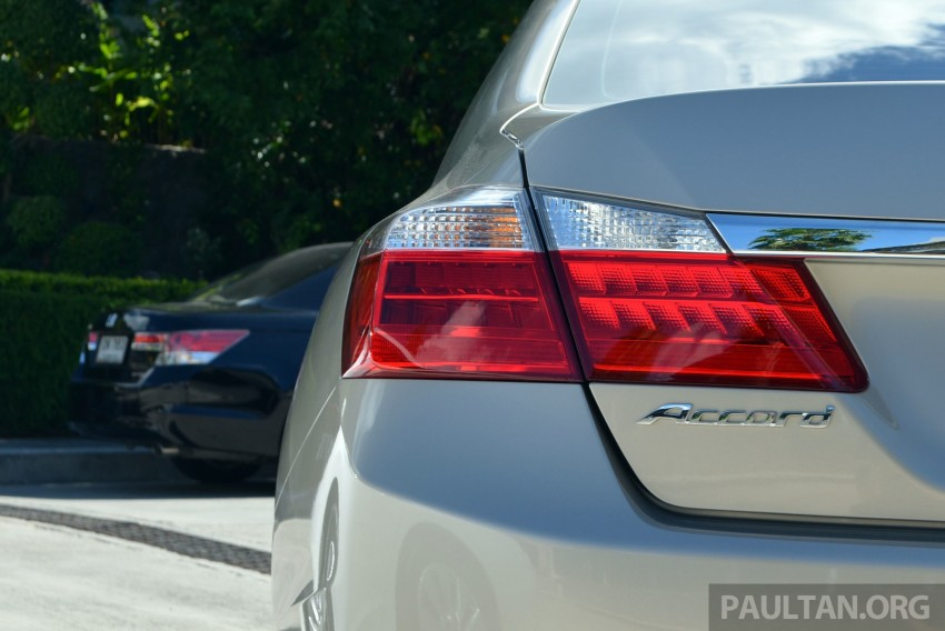 DRIVEN: Honda Accord 2.0 and 2.4 tested in Thailand Image #194970