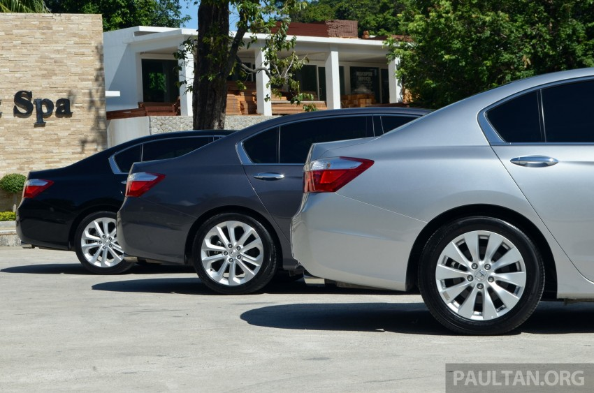 DRIVEN: Honda Accord 2.0 and 2.4 tested in Thailand Image #194971