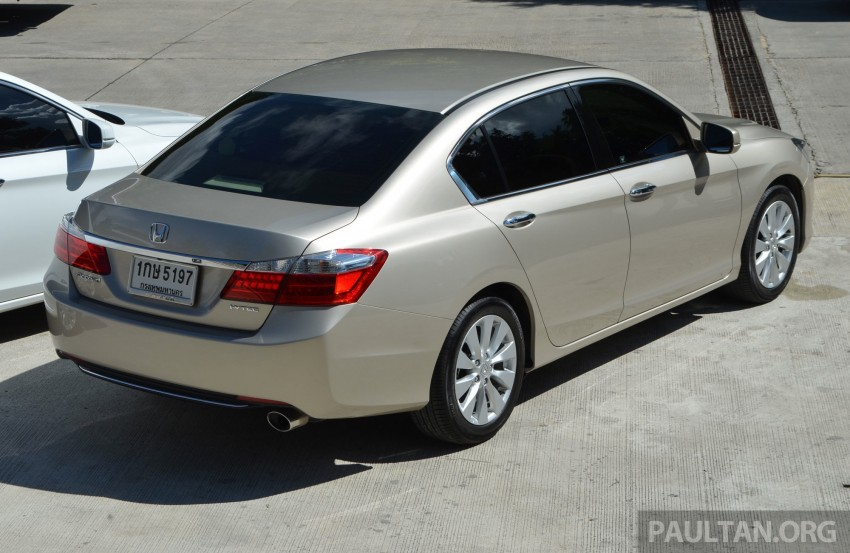 DRIVEN: Honda Accord 2.0 and 2.4 tested in Thailand Image #194972