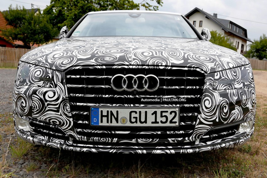Spyshots Facelifted Audi A8 Inside And Out Paul Tan