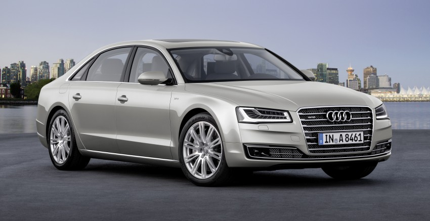 Audi A8 facelift unveiled, to debut at Frankfurt 2013 Image #194083