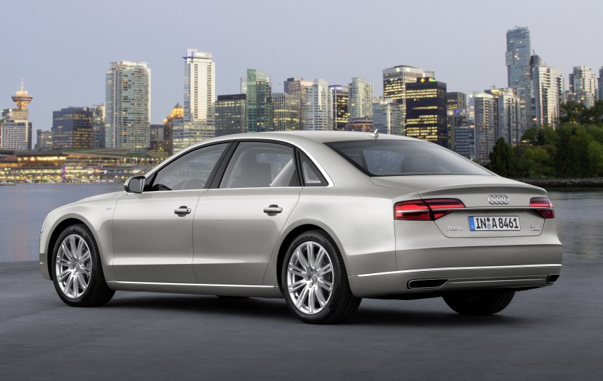 Audi A8 facelift unveiled, to debut at Frankfurt 2013 Image #194086