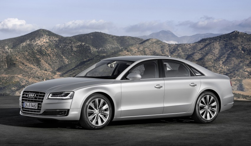 Audi A8 facelift unveiled, to debut at Frankfurt 2013 Image #194087