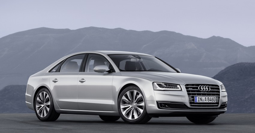 Audi A8 facelift unveiled, to debut at Frankfurt 2013 Image #194088